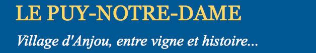 Le Puy-Notre-Dame à 11km du gite de France le logis d'Adrienne