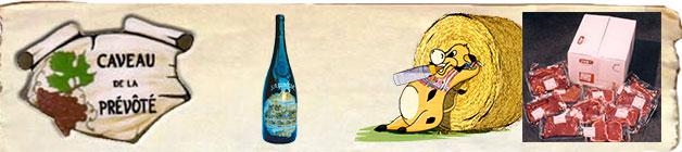 caveau de la Prévôte viande bio vin de Saumur