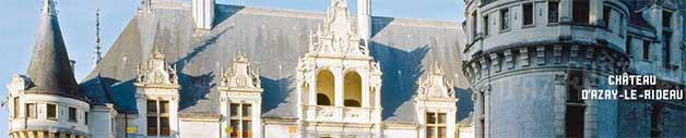 chateau Azay-le-Rideau val de Loire à 59km du gite de France le logis d'Adrienne
