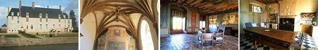 château du bois de Sanzay (mariage et réception) à 11km du gite de France le logis d'Adrienne