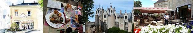 restaurant La Barbacane à Montreuil-Bellay à 3km du gite de France le logis d'Adrienne