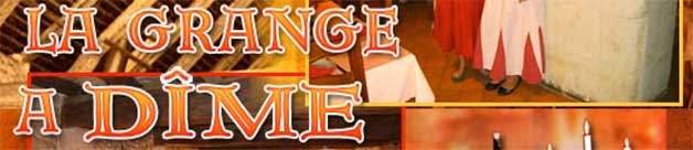 restaurant La Grange à Dîme à Montreuil-Bellay à 3km du gite de France le logis d'Adrienne