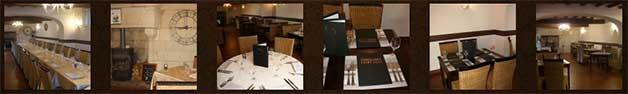 restaurant L'hostellerie saint Jean à Montreuil-Bellay à 3km du gite de France le logis d'Adrienne